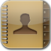 Contacts-glow icon