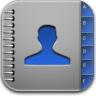 Contacts-blue icon