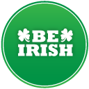 St-patricks-day-be-irish icon