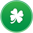 St patricks day clover icon