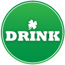 St patricks day drink icon