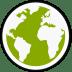 Midori-globe icon