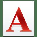 Filetype Font icon