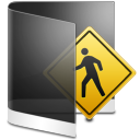 Folder Black Public icon