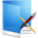 Folder-Blue-Apps icon