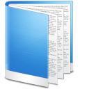 Folder Blue Doc icon