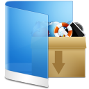 Folder Blue Misc icon