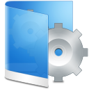 Folder Blue System icon