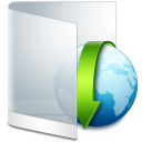 Folder-White-Downloads icon