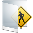Folder White Public icon