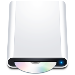 Disk HD CDRom icon