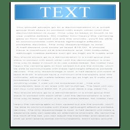 Filetype Text icon