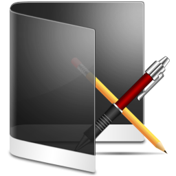 Folder Black Apps icon