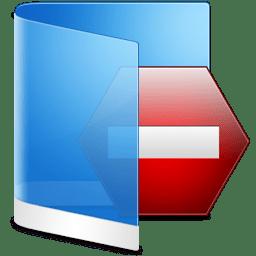 Folder Blue Private icon