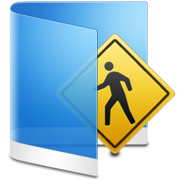 Folder Blue Public icon