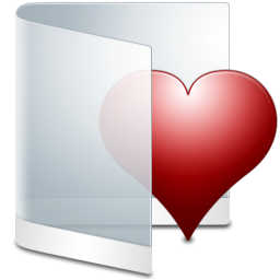 Folder White Favorite icon