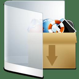 Folder White Misc icon