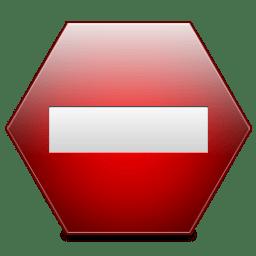 Sign Private icon