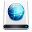 Disk-HD-Network icon