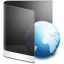 Folder Black Web icon