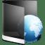 Folder Black Web icon