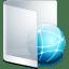 Folder White Network icon