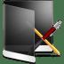 Folder-Black-Apps icon