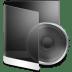 Folder-Black-Music icon