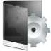 Folder-Black-System icon