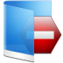 Folder-Blue-Private icon