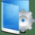 Folder-Blue-System icon