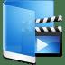Folder-Blue-Videos icon