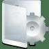 Folder-White-System icon