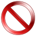 Sign-Delete icon