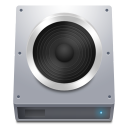 Disk HDD Audio icon