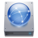 Disk-HDD-Network icon