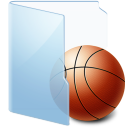 Folder-Blue-Games icon