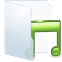 Folder Light Music icon