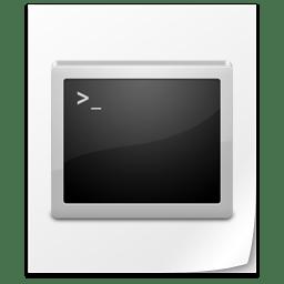 File Command icon