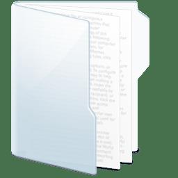 Folder Light Documents icon