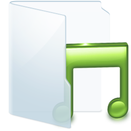Folder Light Music icon