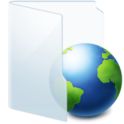Folder Light Web icon