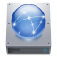 Disk HDD Network icon