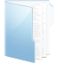 Folder-Blue-Documents icon