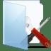 Folder-Blue-Tools icon