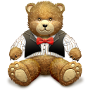 Gift-Brown-bear icon