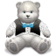 Gift-Light-Grey-bear icon
