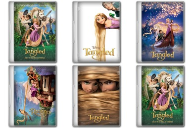 Disneys Tangled Icons