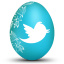 twitter white icon
