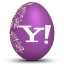 yahoo white icon